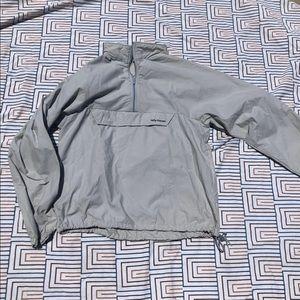 VINTAGE Half Zip Grey Pullover